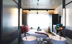 Guestroom at QT Melbourne, Melbourne, Australia