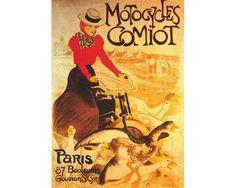 Puzzle D-Toys Motocycles Comiot, Paris de 1000 Piezas