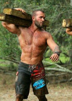 Hot Beards, Husband Best Friend, Country Men, Hommes Sexy, Hot Hunks, Bear Men, Raining Men, Hairy Chest, Mature Men
