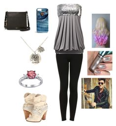 Date with Logan by harrystylesandliampayne on Polyvore featuring polyvore, beauty, GUESS, FOSSIL, Topshop and Not Rated