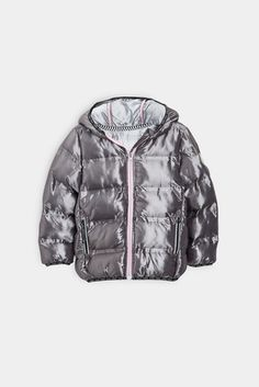 e83e50c52d0 Buy Charcoal Sporty Padded Jacket (3-16yrs) from the Next UK online shop