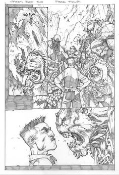 Here's a few preview pages for Avenging Spider-Man #2 as well as the pencils from the cover for Avenging Spider-Man #1!                     ...