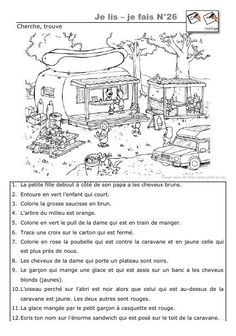 Printing Ideas Useful Printing Videos Jewelry Bracelets French Language Lessons, French Language Learning, French Lessons, French Flashcards, French Worksheets, Comprehension Activities, Reading Comprehension, French Kids, French Education