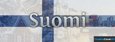 Suomi Finland Flag Timeline Cover 850x315 Facebook Covers - Timeline Cover HD