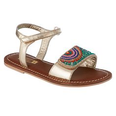 Buy John Lewis Children's Penny Rainbow Sandals, Multi Online at johnlewis.com