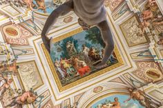 Ceiling in the Villa Borghese by Jean-Marie Grange on 500px