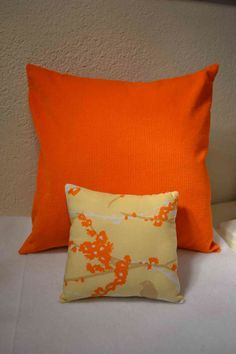14 Corduroy pillow cover and bird pillow SET  by mailebaldwin, $24.00