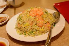 Din Tai Fung's shrimp fried rice, #Taiwan 鼎泰豐 蝦仁蛋炒飯