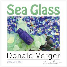 2015 SEA GLASS Fine Art Nature Wall Calendar 12X12