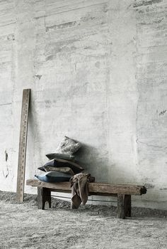 Buy MUUBS products online as a private customer. MUUBS' design creates a personal home that oozes authenticity. Felt Cushion, Wooden Ruler, Bench Furniture, Kids Wallpaper, Raw Wood, Concrete Wall, Weathered Wood, Wabi Sabi, Beautiful Wall