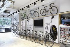 In photos: Kinoko Cycles — the bike shop formerly known as Tokyo Fixed Bicycle Cafe, Bicycle Store, Boutique Velo, Velo Design, Custom Cycles, Custom Bikes, Bike Brands, Bike Storage, Bike Style