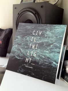 New Civil Twilight Vinyl Jacket