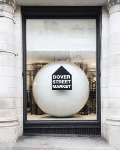 Dover street market. ⚪️ Not on Dover street anymore.