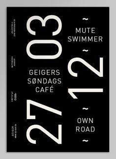 Typography / Geiger Magazine on the Behance Network — Designspiration