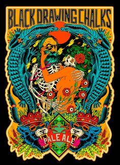 Les illustrations explosives du collectif brésilien Bicicleta Sem Freio