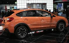 Subaru's newly-designed 2013 XV Crosstrek is definitely on the hot orange cars bandwagon with its Tangerine Orange Pearl. In fact, a visit to the Subaru website shows that at the moment, this is the only available color available for the sleek crossover in the LA area. So for the moment in LA, the Crosstrek says go orange or go home.