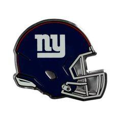 New York Giants Helmet Auto Emblem - (Promark), Multicolor