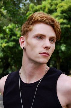 Jake Hold by Stephanie Matti  stephaniematti.tumblr.com  Lovely red haired dude <3