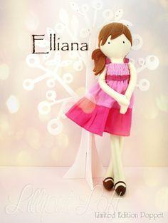 Elliana - Pretty Poppets © Lilliput Loft 2014