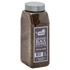 Badia's premium quality black pepper is freshly ground and will add a fragrant bouquet and flavor to your favorite dishes. Use it to marinate meats and to prepare sauces, soups and salads.