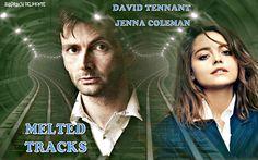 Melted Tracks - #DavidTennant #JennaColeman - From The Films That Never Were.  https://www.facebook.com/Shadrachart   ©shadrachdelmonte