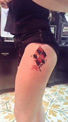 Harley Quinn tattoo Suicide Squad                                                                                                                                                     More