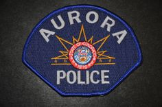 Aurora Police Patch, Arapahoe County, Colorado (Current 2007 Issue)