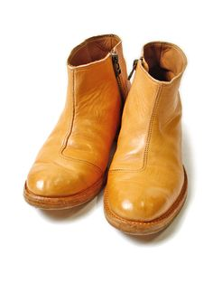 Piece Dye Leather Riding Boots  浅草の職人達と...