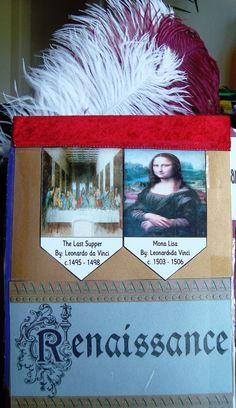 free notebooking lapbook: Renaissance 1300 to 1600 {www.tinasdynamichomeschoolplus.com}