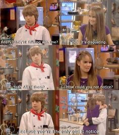 The Suite Life on Deck- This maybe was the most adorable love story on Disney Channel.
