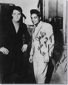 Elvis and Jackie Wilson. Great friends until the end.