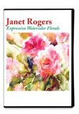 Janet Rogers Floral Watercolor DVD