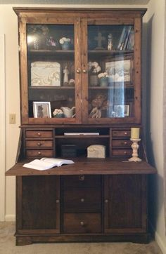 Grant Secretary Desk | Do It Yourself Home Projects from Ana White