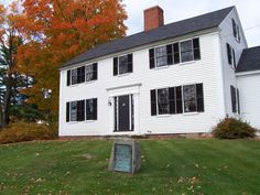 William Fogg House,Eliot,Maine next to the library :)
