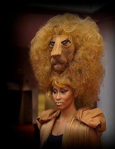 Brenda Waters hair avant garde design
