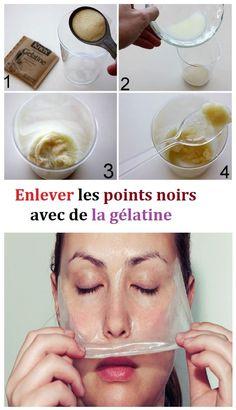 Comment enlever les points noirs avec de la gélatine non aromatisée