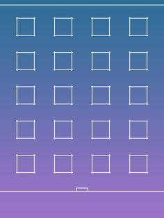 iPad grid wallpaper (iPad Mini non retina, portrait)