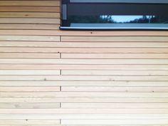 SILA A/B® cladding detail: expansion gaps   Torispardon Project   Stuart Archer & Liz Marinko   russwood.co.uk Wood Cladding Exterior, Timber Cladding, Adobe, Studio Spaces, Garden Studio, Places, Outdoor Decor, House, Ideas