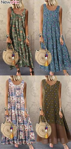 Women Floral Dress Best for Up to OFF NewChicYour Private Wardrobe Women Floral Dress Best for Up to OFF Cool Price but Top Quality! The post Women Floral Dress Best for Up to OFF appeared first on Kleider Sommer. Business Outfit Damen, Business Outfits, Elegant Dresses, Casual Dresses, Summer Dresses, Mode Outfits, Fashion Outfits, Bohemian Mode, Casual Tops For Women