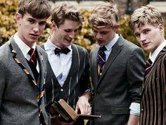 Preppy Boys, Preppy Style, Preppy College, Preppy Outfits, Preppy Family, L Real Name, Style Ivy League, Prep School Uniform, School Uniforms