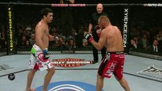 Lyoto Machida v. Randy Couture - Jumping Frontkick KO