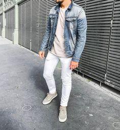 #ootd #ootdmen #street #streetstyle #stylemen #look #style #fashion #fashionista #men #menswear #menstyle #mensstyle #menfashion #mensfashion #mensfashionpost #simplefits #instafashion #mode #moda #instadaily #fashionpost #jacket #denimjacket #whitedenim #white #whitejean #vans #zara #cos