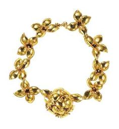 AN IMPORTANT COUTURE NECKLACE, BY VALENTINO, part of the Elizabeth Taylor Collection