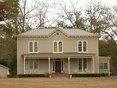 Dickinson House  - two-story Italianate style house was built in 1845.