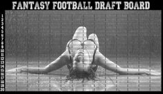 2020 Fantasy Football Draft Board 12 Team 20 Round UPDATED Commish Choice
