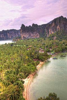 Thailand, Railey Beach, Krabi,  by Peter Apflauer, via Flickr