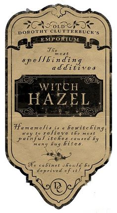 So and Sew Productions: Halloween Apothecary Labels