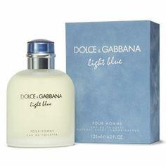 Dolce & Gabbana Light Blue Cologne for Men oz Eau De Toilette New - Ideas of Dolce Gabbana Perfume Glamour, Perfume Diesel, Perfume Bottles, Perfume Light Blue, Light Blue Cologne, Light Blue Dolce Gabbana, Dolce And Gabbana Man, Beauty Products, Eau De Cologne
