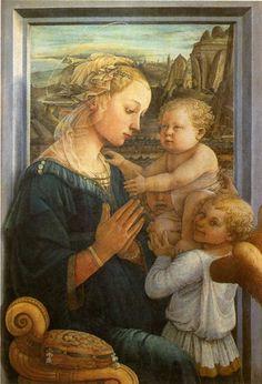 - Les mouvements dans la peinture - La renaissance Philippo Lippi