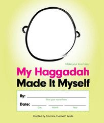 Available via ModernTribe.com, we adore this DIY for kids (and fun for adults too) this Passover, we present you the Made it Myself Haggadah! $24.95  #Dreideljams #Passover